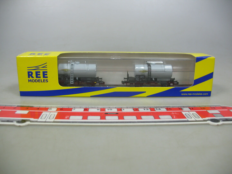 Ai44-0, 5  ree Spur N/DC nw-007 Set trasporto di merci/Caldaia Carrello simotra SNCF, Neuw + OVP