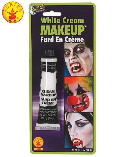 White Cream Make Up Tube Halloween Costume Accessory Vampire Zombie Clown Ghost