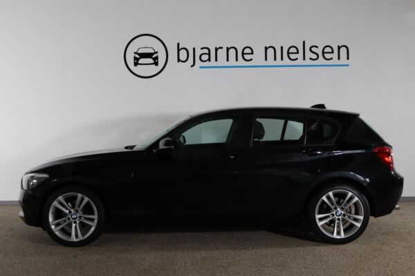 BMW 120d 2,0 aut. - billede 1