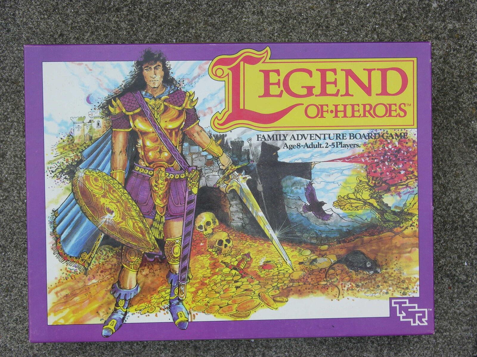 TSR Legende von Heroes Brettspiel