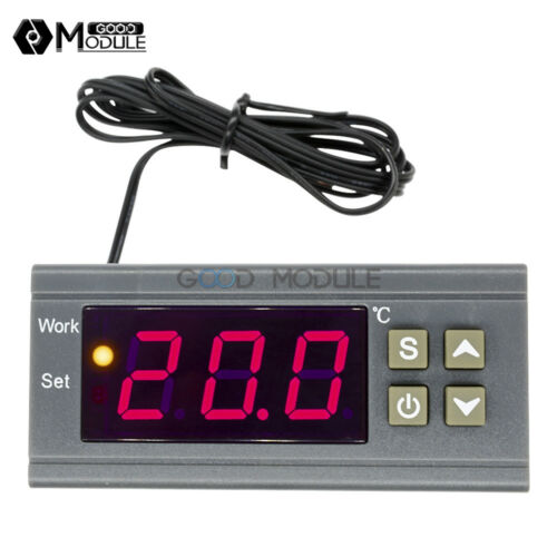 MH1210W Digital DC 12~72V//AC 90-250V Temperature Humidity Controller Thermostat
