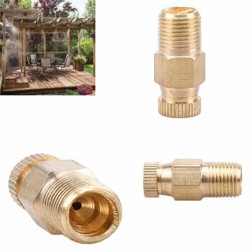 "1//8/"" Thread Golden Atomizing Garden Sprinklers Fog Misting Foging Spray Nozzles"