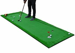 3.3\'X10\' Indoor/outdoor Practice Golf Putting Green Training Mat ...