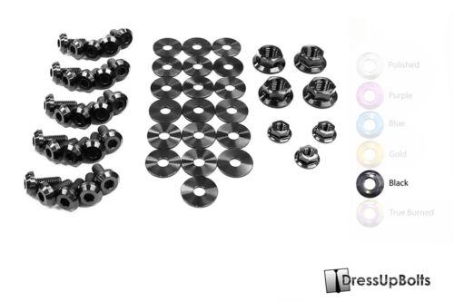 Dress Up Bolts for 96-00 Civic EJ//EK Black Ti Titanium Engine Bay Kit