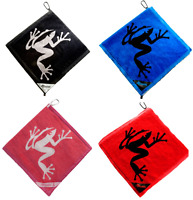 Frogger Amphibian Premium Golf Towel Choose Color 14 X 14 Tee Prize Gift Large