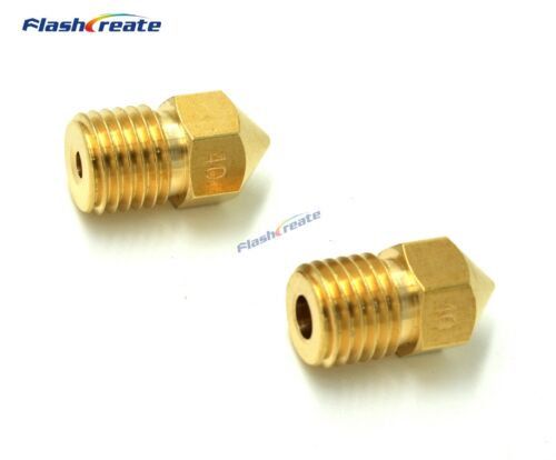 3D Printer Brass M8 nozzle 0.4mm Length 15.5mm Screw thread M8*1 For 1.75mm 3mm