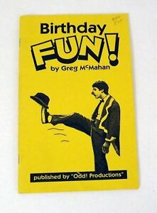 Birthday Fun! by Greg McMahan by Odd! Productions