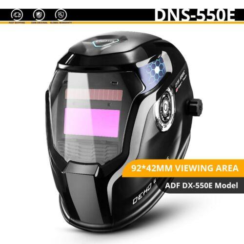 Skull Solar Auto DEKO Darkening Adjustable Range Welding Machine Electric Lens