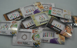 1-Pack-Premium-Indian-Bindi-Dots-Bollywood-Stick-on-Tattoo-Jewels-Body-Art