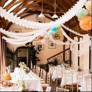 Hangende Papiergirlanden Flora Kette Hochzeit Decke Banner
