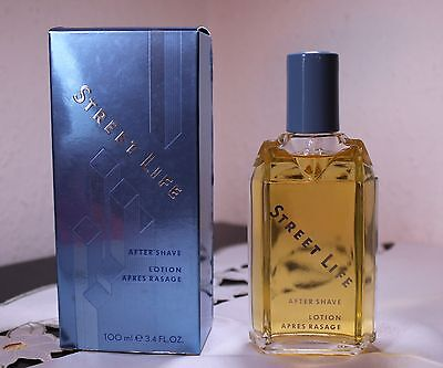 After Shave Lotion Street Life Henry M vintage Capable 100ml Easy To Repair Betrix