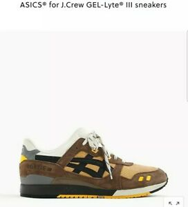 Details about Asics Gel Lyte III X J Crew Dirt Road Size 8.5