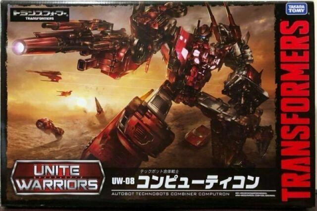Takara Tomy Transformers Unite Warriors UW08 Computron Action Figure JAPAN