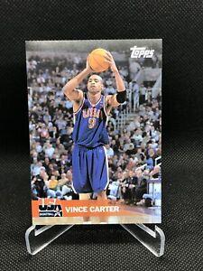 2000-Topps-Team-USA-034-Gold-034-Card-31-Vince-Carter-RARE-HOF-Hall-Of-Fame-Psa-Bgs