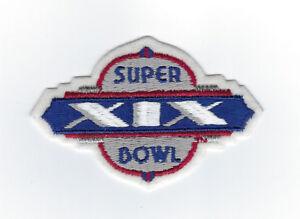 1984-Super-Bowl-XIX-patch-San-Francisco-49ers-vs-Miami-Dolphins-Joe-Montana-MVP