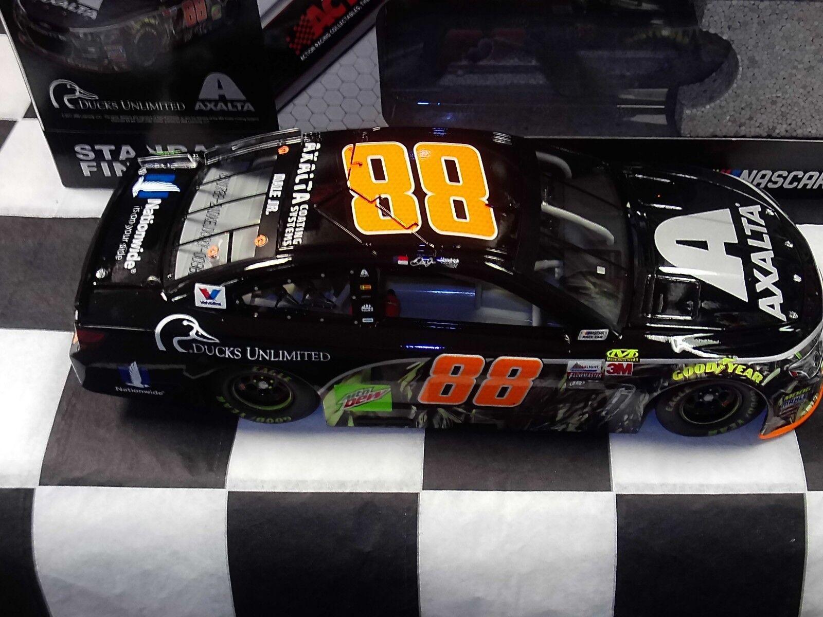 Dale Dale Dale Earnhardt Jr  88 Axalta Ducks Unlimited 2017 ss acción 1 24 coche Nascar 41da91