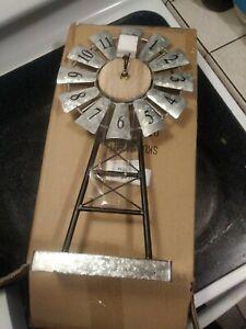 Beautiful. Windmill Clock