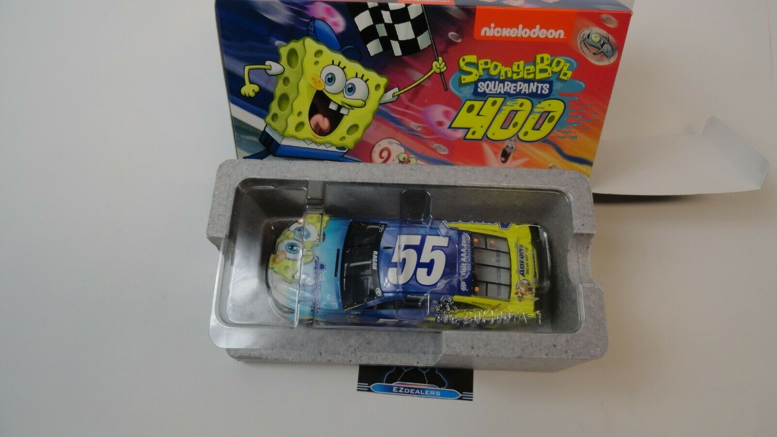 David Ragan  55 2015 Aaron's SpongeBob Camry 1 24 Action Racing Diecast NASCAR