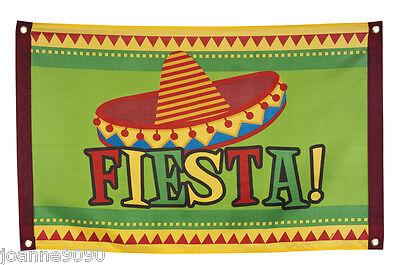 Mexican Sombrero Fiesta Partyware Garland Decoration Party Flag Poster Banner