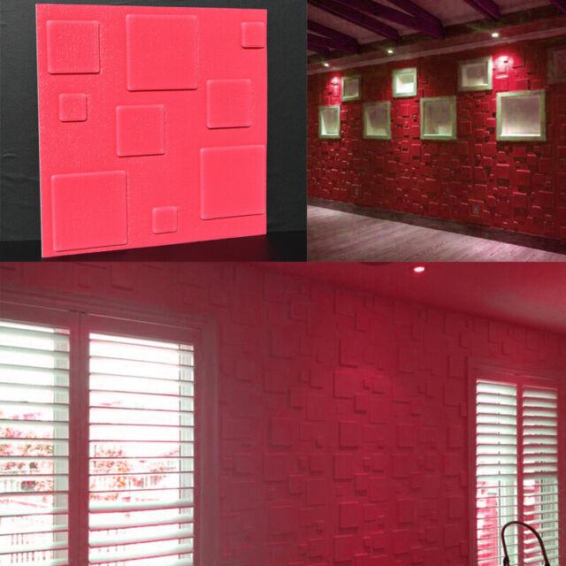 White PE Foam 3D Brick Wall Sticker Self-Adhesive DIY Panels Decal 30*30CM