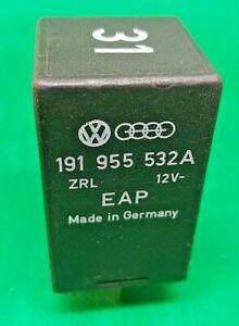 AUDI-VW-NO-31-BLACK-Relay-Control-Module-Unit-191955532A-12V