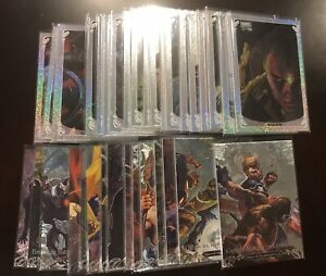 2018-Marvel-Masterpieces-Complete-Set-of-Battle-Spectra-15-amp-Holofoil-20