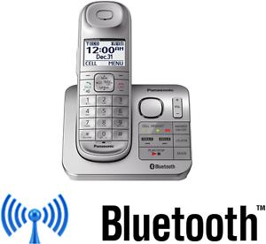 panasonic kx tgl460 link2cell bluetooth cordless w answering machine rh ebay com