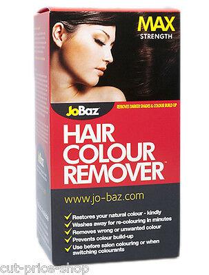 Hair Dye Colour Remover Max Strength JoBaz Removes Colour Build up /Dark Dye
