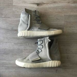 on sale 6b56c 10a44 Image is loading Adidas-YEEZY-BOOST-750-OG-Light-Brown-Grey-