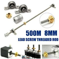 T8 Lead Screw Kits Trapezoidal Coupling Shaft Accessories High Quality