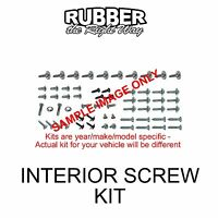 1966 Dodge Coronet 440 Interior Screw Kit - 109 Pc. - 4 Door Models