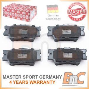 GENUINE-MASTER-SPORT-GERMANY-HEAVY-DUTY-REAR-BRAKE-PADS-FOR-TOYOTA