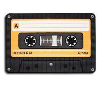 Teppich Musikkassette Orange 40x60