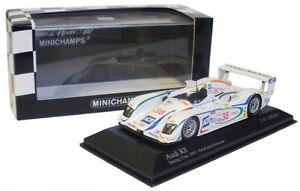 Minichamps Audi R8 # 38 Sebring 12h 2003 - Pirro / Lehto / johaansson Échelle 1/43
