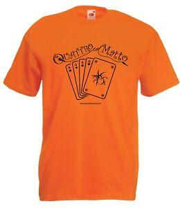 T-shirt Maglietta QLM_04 Quattro col Matto Manicomio Musicale Itinerante Band