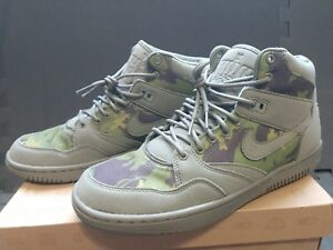 185a5c9bf1fe LIMITED EDITION Nike x Stussy Sky Force 88 Mid Olive - Size 9.5