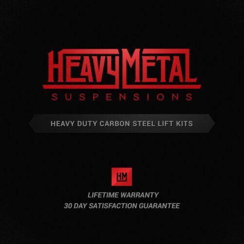 "3/"" Rear Lift Leveling Kit For Hummer H2 2003-2010 3/"" Front Shock Extenders"