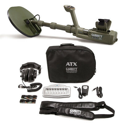 GARRETT ATX EXTREME PULSE INDUCTION METAL DETECTOR 11x13 MONO CLOSED SEARCHCOIL!