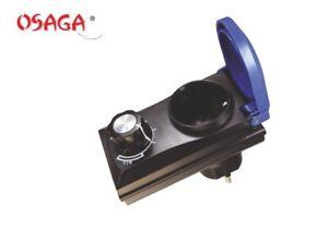 Osaga-ODR-800-Leistungsregler-Drehzahlregler-Stufenlos-fuer-Teichpumpen
