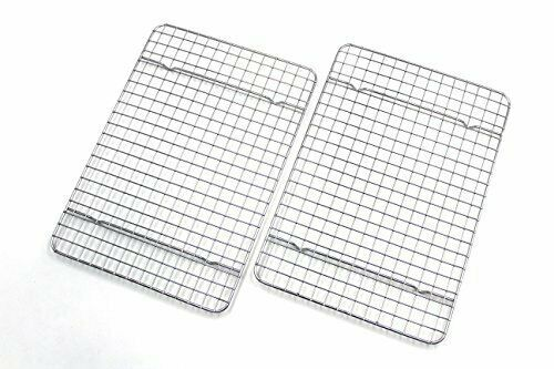 Stainless Steel Cooling Rack//Baking Rack Set of 2 Chef Cooling Racks For Baking