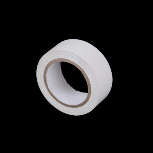 1Pcs PVC Electricians Electrical Insulation Tape White 0.2mmx19mmx10M Fad CA