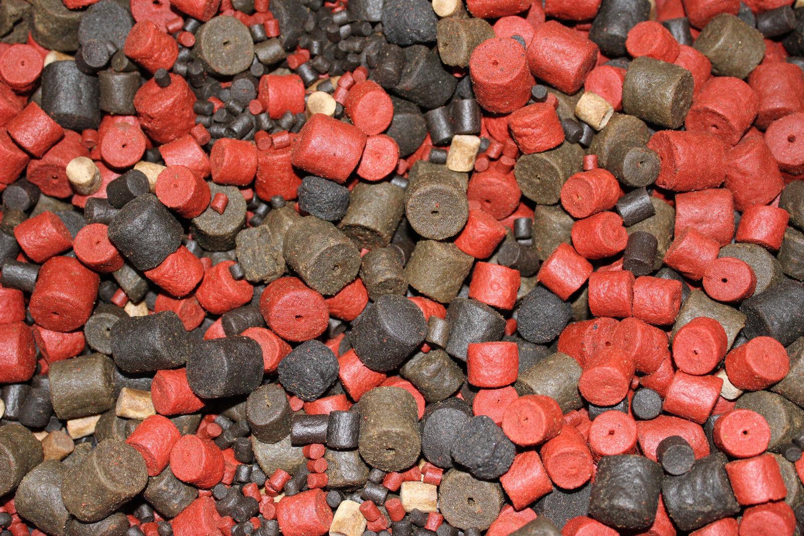 3,59eur   kg Halibut Pellet Mélange 4-20mm 10 de granulés sanglante marine