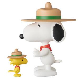 Poupées à collectionner en vinyle Medicom Vinyl Snoopy & Woodstock Vcd Cacahuètes