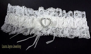 White-Satin-with-White-lace-bridal-garter-with-sparkling-heart-design