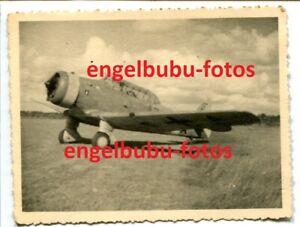 FOTO-FLUGZEUG-North-American-034-NAA-64-034-Balkenkreuz-amp-Staffelwappen-Stettin