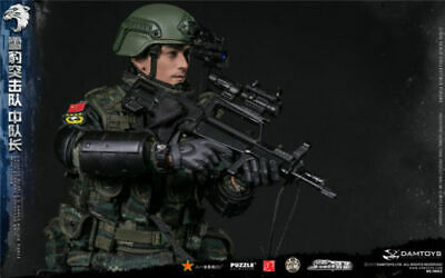 DAMTOYS 78053 1//6 Special Police Force Snow Leopard Commando Figure Collection
