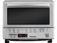 Panasonic Nb-g110p Flash Xpress Toaster Oven, Silver , New, Free Shipping on sale