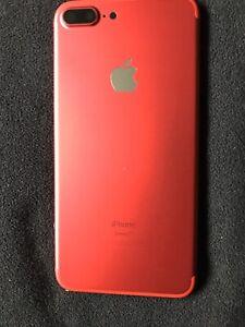Coque-Arriere-Chassis-iPhone-7-Plus-Rouge-avec-boutons-et-tiroir-sim