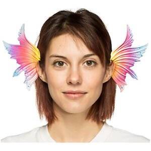 Adult-Women-039-s-Fairy-Mermaid-Pixie-Ear-Wings-Fins-Halloween-Costume-Headband