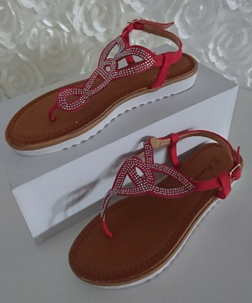 Gentleman/Lady SANDALETTE PLATEAU SCHUHE PARTY MADE GR. 38 Rot Sommer MADE PARTY IN ITALY Beautiful color Reliable performance fine GB2180 796df5